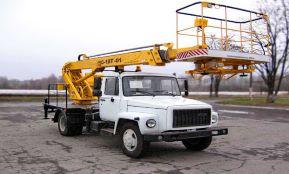 Автовышка ГАЗ-18 метров