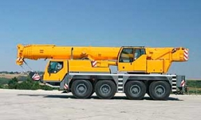 Автокран Liebherr LTM-1070