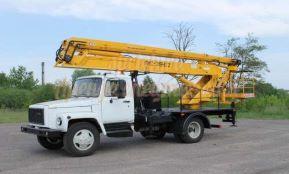 Автовышка ЗИЛ-28 метра
